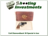 Colt Diamondback 2.5in 38 in box!