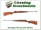 Remington 700 ADL early pressed checkering 280 Rem!