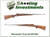 Winchester 70 1951 pre-64 300 H&H!