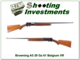 Browning A5 Sweet Sixteen 61 Belgium 28in Modified!