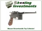 Mauser Broom handle 30 Mauser TOP Collector!