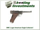 1906 DWM Luger American Eagle Collector!
