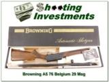 Browning A5 20 Magnum 76 Belgium NIB