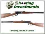 Browning 1886 45-70 Saddle Ring Carbine!