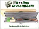 "Remington Ducks Unlimited 870 Mississippi Edition ""The River"" NIB"