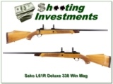 Sako L61R Deluxe 338 Win looks unfired!