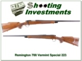 Remington 700 BDL Varmint Special in 223 Remington Heavy Barrel