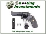 Colt King Cobra 4in Blued