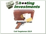 Colt Targetsman 22LR unfired in box!