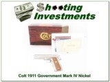 Colt Government Model Mark IV Series 80 45 ACP ANIB