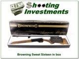 Browning A5 Sweet Sixteen 26in IC 71 Belgium in box