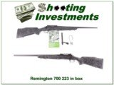 Remington 700 Tactical 223 Remington unfired!