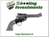 Ruger Blackhawk New Model 45 LC 6.5 in Blued