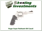 Ruger Super Redhawk 454 Casull 45 Colt 5in Stainless
