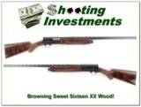 Browning A5 Sweet Sixteen 28in Invector XX Wood!!