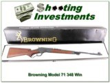 Browning Model 71 348 Win near new in Box! - 1 of 4