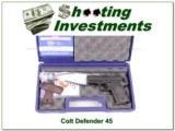 Colt Defender Lightweight 45 ACP in box