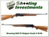 Browning BAR Grade II First Year 67 Belgium 30-06