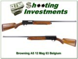Browning 63 Belgium 12 Magnum new new!