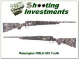 Remington 700 LH Left Handed Youth 243 Camo