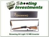 Browning A5 Light 12 as new in box 26in VR