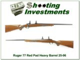 Ruger 77 Red Pad Heavy Barrel 22-250