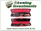 Caesar Guerini Summit 3 Barrel Sub Gauge Set Exc Cond!