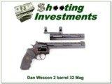 Dan Wesson IHMSA 2 barrel set in 32 Magnum 32 H&R Ma