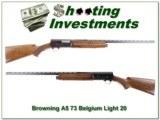 Browning A5 73 Begium Light 20 near new!