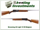 Browning A5 Light 12 55 Belgium Exc Cond