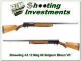Browning A5 66 Belgium Blond 12 Magnum VR