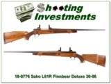 Sako L61R Finnbear Deluxe 30-06 very nice wood!