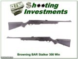 Browning BAR Mark II Stalker 308 Win Exc Cond