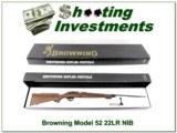 Browning Model 52 22LR NIB!