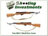 Tula SKS 7.62x39 Exc Cond