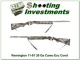 Remington 11-87 Sportsman 20 Gauge full camo!