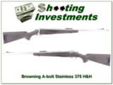 Browning A-bolt Stainless Stalker 375 H&H