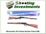Winchester 94 Carbine 30-30 Border Patrol commemorative NIB