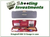 Krieghoff K20 3 barrel set 20, 28 & 410 in case