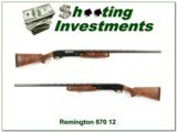 Remington 870 TC Wingmaster 12 Ga Trap