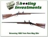 Browning 1885 7mm Rem Mag 28in Octagonal barrel