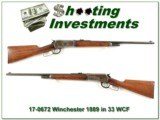 Winchester 1886 in RARE Takedown 33 WCF all original