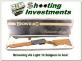 Browning A5 Light 12 Belgium in box!