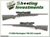 Remington 700 BDL Varmint 223 w/ Leupold Vari-X III!