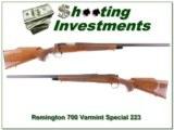 Remington 700 BDL Varmint Special in 223 Remington Heavy Barrel