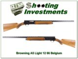 Browning A5 Light 12 66 Belgium Blond!