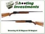 Browning A5 Magnum 20 69 Belgium Vent Rib