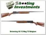 Browning A5 Magnum 12 72 Belgium!