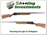 Browning A5 Light 12 71 Belgium Vent Rib