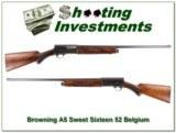Browning A5 Sweet Sixteen 52 Belgium